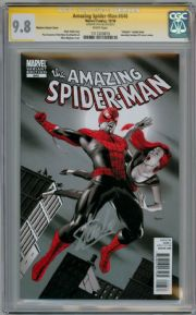 Amazing Spider-man #646 Variant  CGC 9.8 Signature Series Signed Stan Lee AF #15 Homage